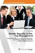 Gender Equality at the Top Management