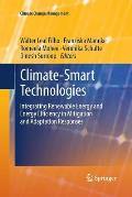 Climate-Smart Technologies: Integrating Renewable Energy and Energy Efficiency in Mitigation and Adaptation Responses