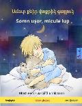 Sleep Tight, Little Wolf. Bilingual Children's Book (Armenian - Romanian)