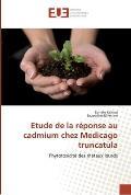 Etude de La Reponse Au Cadmium Chez Medicago Truncatula