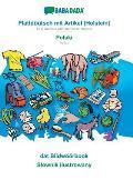 BABADADA, Plattd??tsch mit Artikel (Holstein) - Polski, dat Bildw??rbook - Slownik ilustrowany