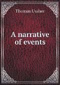A Narrative of Events