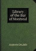 Library of the Bar of Montreal
