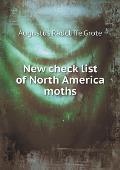New Check List of North America Moths