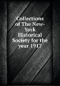 Collections of the New-York Historical Society for the Year 1917