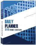 Daily Planner 365 Daily Agenda: Undated 1 Year Daily Notebook, Undated Planner and Journal, Daily Planner Organizer