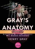 Gray's Anatomy: Complete & Illustrated with 1247 Original Coloured Drawings