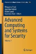Advanced Computing and Systems for Security: Volume 2