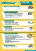 Quick Minds Level 6 Posters (3) Spanish Edition