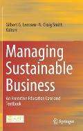Managing Sustainable Business: An Executive Education Case and Textbook