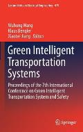 Green Intelligent Transportation Systems: Proceedings of the 7th International Conference on Green Intelligent Transportation System and Safety