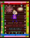 New Year ABC Preschool Workbook: New Year Kindergarten Alphabet Learning.New Year K Alphabet Learning.New Year kindergarten Alphabet learning.New Year