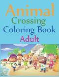 Animal Crossing Coloring Book Adult: Animal Crossing New Horizons Coloring Book