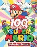 Super mario Coloring Book: +100 Illustrations, wonderful Jumbo Super mario Coloring Book For Kids Ages 3-7, 4-8, 8-10, 8-12, Fun, (Super mario Bo