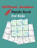 Difficult Sudoku Book Puzzle Book For Kids: Brain Games Puzzle Book