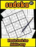 sudoku puzzle book for adults easy 100+ pages