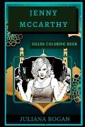 Jenny McCarthy Killer Coloring Book: Well-Crafted Art Therapy Illustrations and Relaxation Designs