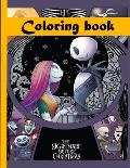 The Nightmare Before Christmas Coloring Book: Great Coloring Books! coloring books for adults relaxation bundles - Perfect Christmas Gift For NBC Fan
