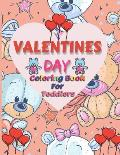 Valentines Day Coloring Book For Toddlers
